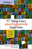 97 things every java programmer should know : collective wisdom from the.