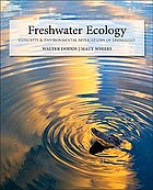 Freshwater ecology : concepts and environmental applications of limnology