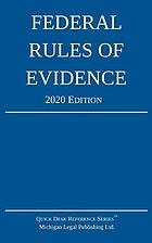 FEDERAL RULES OF EVIDENCE : with internal cross-references.