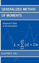 Generalized method of moments