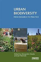 Urban biodiversity : from research to practice