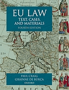 EU law : text, cases, and materials