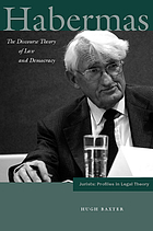Habermas : the discourse theory of law and democracy