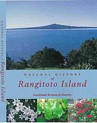 Natural history of Rangitoto Island, Hauraki Gulf, Auckland, New Zealand
