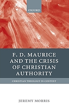 F.D. Maurice and the crisis of Christian authority