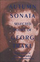 Autumn sonata : selected poems of Georg Trakl