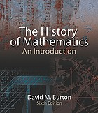The history of mathematics : an introduction