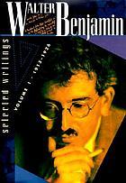 1938-1940 Volume 4 Selected Writings Walter Benjamin