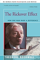 The Rickover effect : how one man made a difference