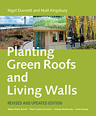 Planting green roofs and living walls.