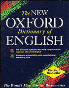 The new Oxford dictionary of English