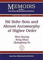 Nil Bohr-sets and almost automorphy of higher order