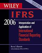 Interpretation and application of International Accounting and Financial Reporting Standards 2006