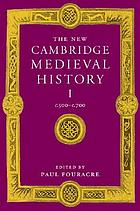 The new Cambridge medieval history.