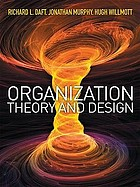 Organization Theory And Design Book 2010 Worldcat Org