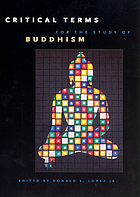 Critical terms for the study of Buddhism