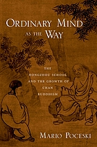 The Hongzhou school and the growth of Chan Buddhism
