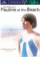 Pauline a la plage = [Pauline at the beach]