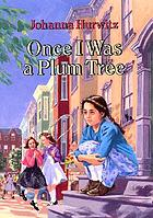 Once I was a plum tree