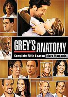 Grey's anatomy. Season five.
