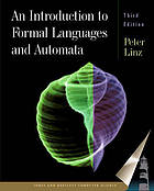 An Introduction to Formal Languages and Automata ; Third Edition