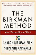 The Birkman Method : Your Personality at Work.
