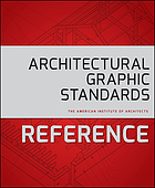 Architectural graphic standards reference