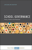 School governance : policy, politics and practices