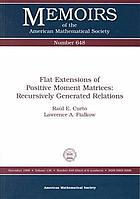 Flat extensions of positive moment matrices : recursively generated relations