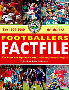 The 1999-2000 official PFA footballers factfile