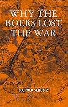 Why the Boers lost the war
