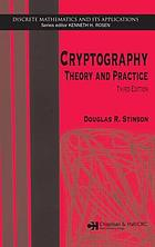 Cryptography : theory and practice