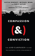 Book cover for Compassion (&) conviction : the AND Campaign's guide to faithful civic engagement