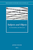 Subjects and objects : art, essentialism, and abstraction