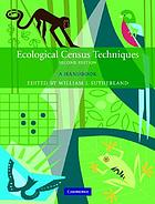 Ecological census techniques : a handbook