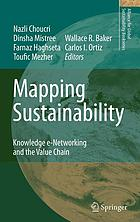 Mapping sustainability : knowledge e-networking and the value chain