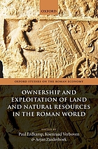 Land and natural resources in the Roman world