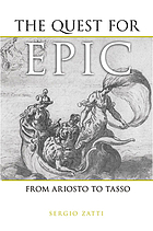 The quest for epic : from Ariosto to Tasso
