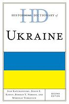 Historical dictionary of Ukraine