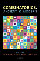 Combinatorics : ancient and modern