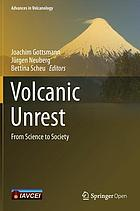 Volcanic unrest : from science to society