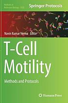 T-cell motility : methods and protocols