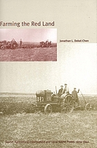 Farming the red land : Jewish agricultural colonization and local Soviet power, 1924-1941