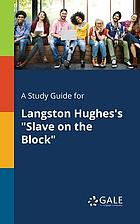 Study guide for langston hughes's