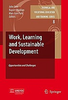 Work, learning and sustainable development : opportunities and challenges