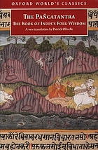 Pancatantra : the Book of India's Folk Wisdom.
