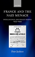 France and the Nazi Menace.