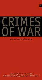 Crimes of war : what the public should know