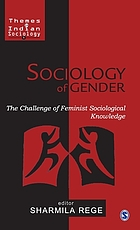 Sociology of gender : the challenge of feminist sociological knowledge