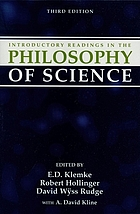 Introductory readings in the phylosophyof science;